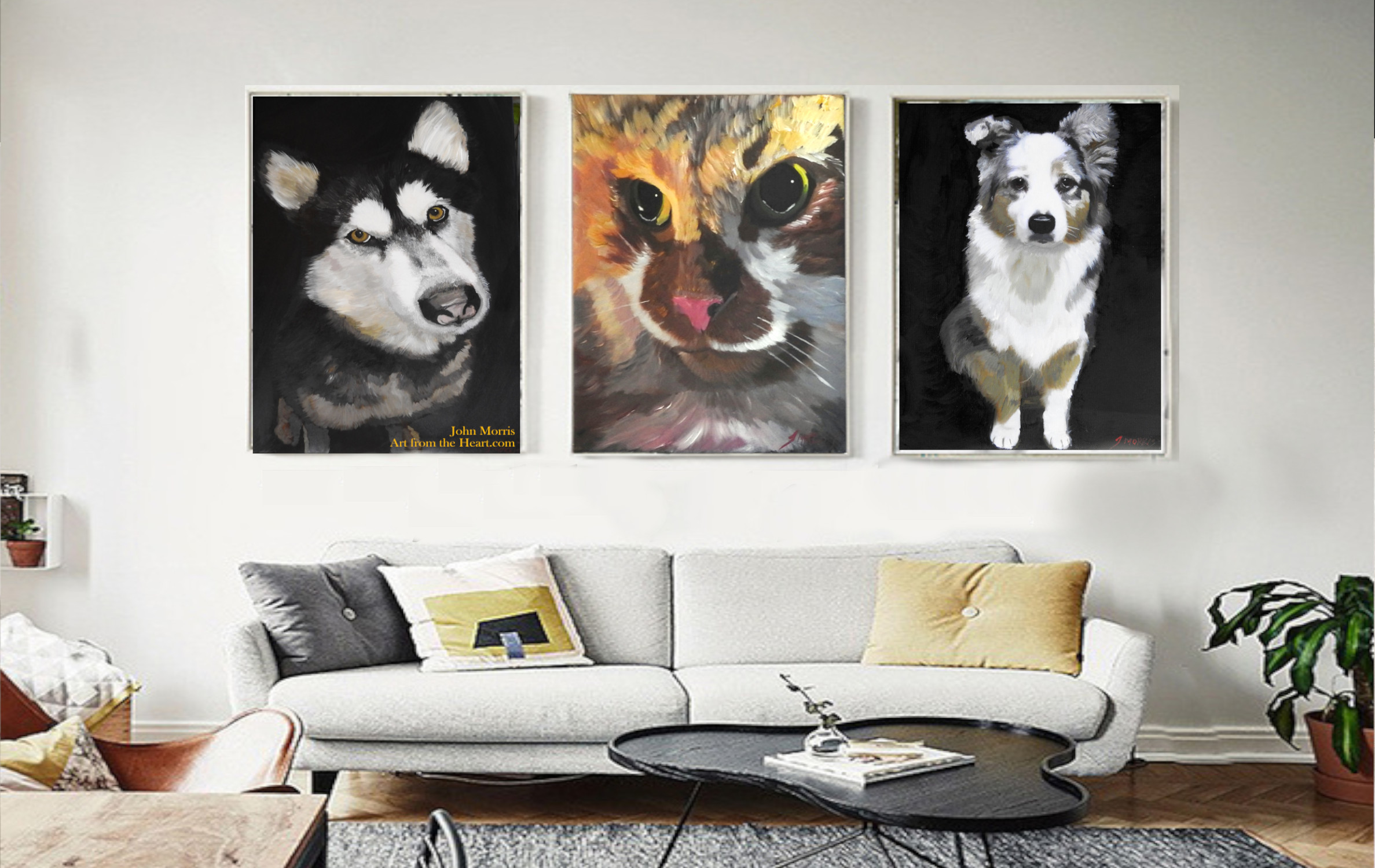 Looking for a stunning painting of your fur baby?